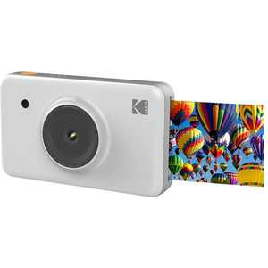 Kodak - MiniShot 10.0-Megapixel Digital Camera - White
