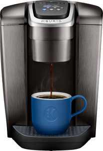 Keurig - K-Elite Single-Serve K-Cup Pod Coffee Maker - Brushed Slate