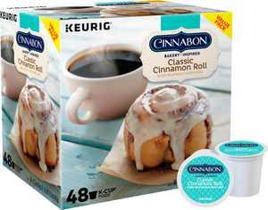 Cinnabon - Classic Cinnamon Roll K-Cup Pods (48-Pack)