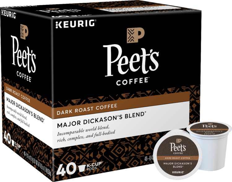 Peet's Coffee - Major Dickason's Blend K-Cup Pods (40-Pack)