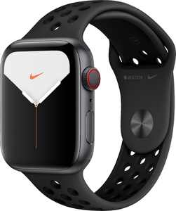 Apple Watch Nike Series 5 (GPS + Cellular) 44mm Space Gray Aluminum Case with Anthracite/Black Nike Sport Band - Space Gray Aluminum