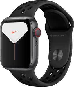 Apple Watch Nike Series 5 (GPS + Cellular) 40mm Space Gray Aluminum Case with Anthracite/Black Nike Sport Band - Space Gray Aluminum (AT&T)