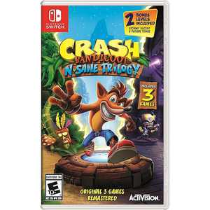 Crash Bandicoot N. Sane Trilogy Standard Edition - Nintendo Switch