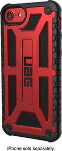 UAG Monarch Series Case for Apple iPhone 6, 6s, 7, 8 and SE (2nd generation) - Crimson