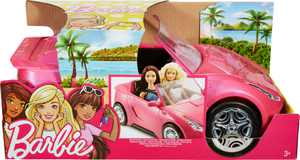 Barbie Convertible Toy Vehicle - Pink