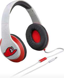 KIDdesigns - eKids Mario Co Branded Headphones - White