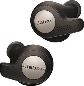 Jabra - Elite Active 65t True Wireless Earbud Headphones - Titanium Black