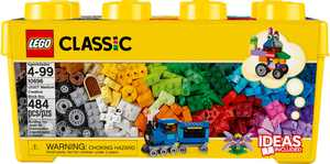 LEGO - Classic Medium Creative Brick Box Building Set 10696