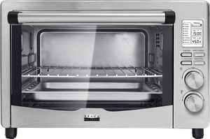 Bella Pro Series - Pro Series 6-Slice Toaster Oven - Stainless Steel