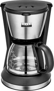 Bella Pro Series - 5-Cup Coffee Maker - Stainless Steel