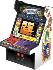 My Arcade - Dig Dug Micro Player - Gray/Black