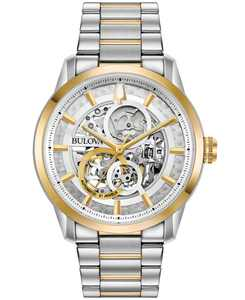 Men's Automatic Sutton Two-Tone Stainless Steel Bracelet Watch 43mm