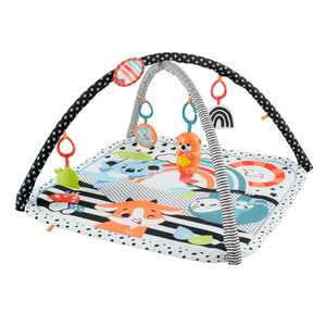 Fisher-Price 3-in-1 Music, Glow and Grow Gym Activity Play Mat