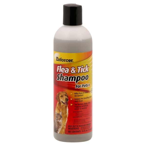 Enforcer Flea & Tick Pet Shampoo