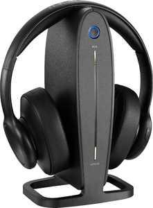 Insignia - RF Wireless Over-the-Ear Headphones - Black