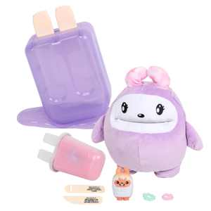 I Dig...Monsters Popsicle Pack - Jumbo Plush Monji with Mini A.S.M.R. Toy