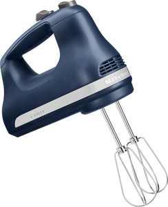 KitchenAid - KHM512IB Ultra Power 5-Speed Hand Mixer - Ink Blue