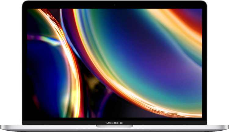 """Apple - MacBook Pro - 13"""" Display with Touch Bar - Intel Core i5 - 16GB Memory - 512GB SSD (Latest Model) - Silver"""