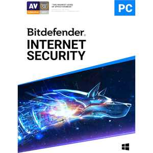 Bitdefender Internet Security (3-Device) (1-Year Subscription) - Windows