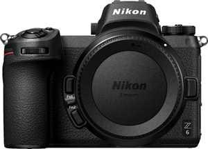 Nikon - Z6 Mirrorless 4K Video Camera (Body Only) - Black