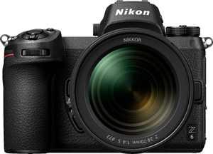 Nikon - Z6 Mirrorless 4K Video Camera with NIKKOR Z 24-70mm Lens - Black