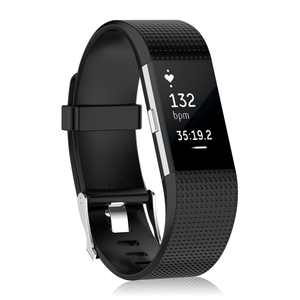 EEEKit For Fitbit Charge 2 Bands, 1/3-Pack Adjustable Replacement Soft Silicone Sport Strap Wristband Accessories for Fitbit Charge 2 Fitness