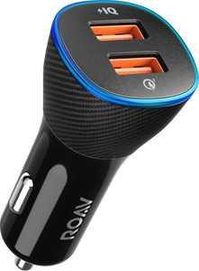 Anker ROAV - SmartCharge 2-Port USB Vehicle Charger - Black
