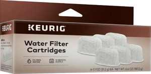 Keurig - Water Filter Refill Cartridges (6-Pack) - Gray