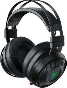 Razer - Nari Ultimate Wireless THX Spatial Audio Gaming Headset for PC and PlayStation 4 - Gunmetal