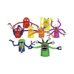 Monster Finger Puppets Collect All 8
