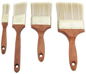 ProSource General Purpose Paint Brush Set, 4 Pieces