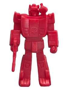 Transformers Figure Collection Sideswipe Mini Eraser Figure