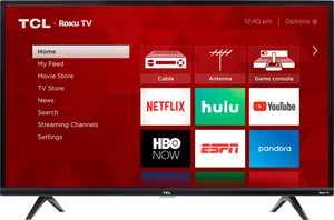 "TCL - 40"" Class 3-Series LED Full HD Smart Roku TV"
