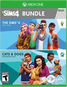 The Sims 4 Plus Cats and Dogs Bundle Standard Edition - Xbox One