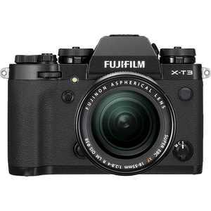 Fujifilm - X Series X-T3 Mirrorless Camera with XF18-55mm F2.8-4 R LM OIS Lens - Black