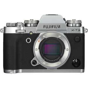 Fujifilm - X Series X-T3 Mirrorless Camera (Body Only) - Silver