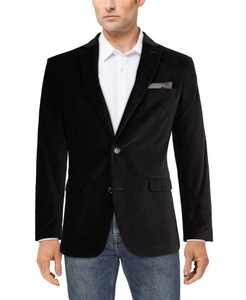 Velvet Slim-Fit Sport Coat