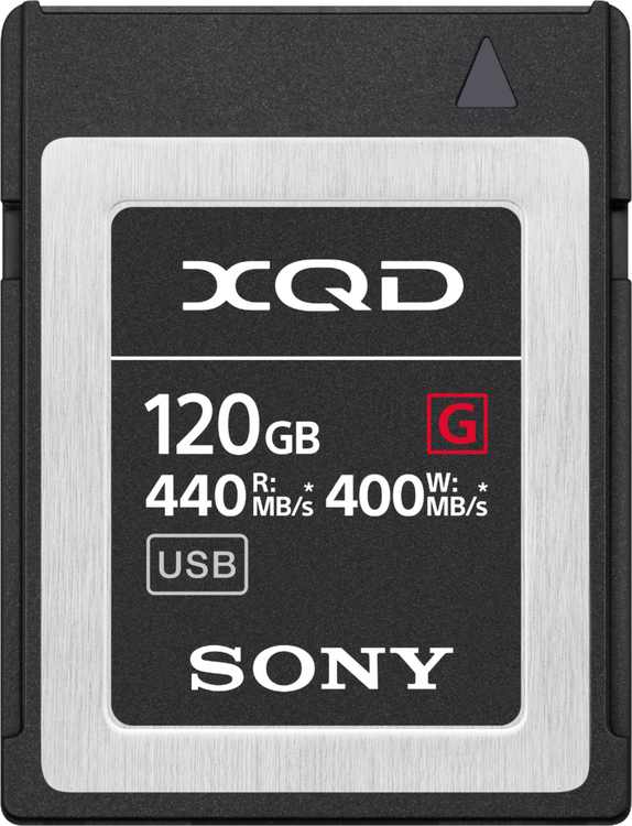 Sony - G-Series 120GB XQD Memory Card