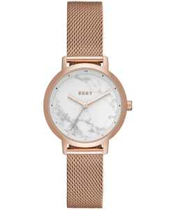 Women's Modernist Rose Gold-Tone Stainless-Steel Mesh Bracelet Watch 32mm, Created for Macy's