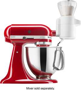 KitchenAid - Sifter and Scale Attachment Bundle - White