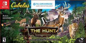 Cabela's The Hunt: Championship Edition Bundle - Nintendo Switch