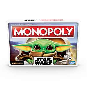 Monopoly: Star Wars The Child, Board Game for Ages 8 and Up, 2-4 Players