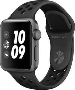 GSRF Apple Watch Nike+ Series 3 (GPS) 38mm Space Gray Aluminum Case with Nike Sport Band - Space Gray Aluminum