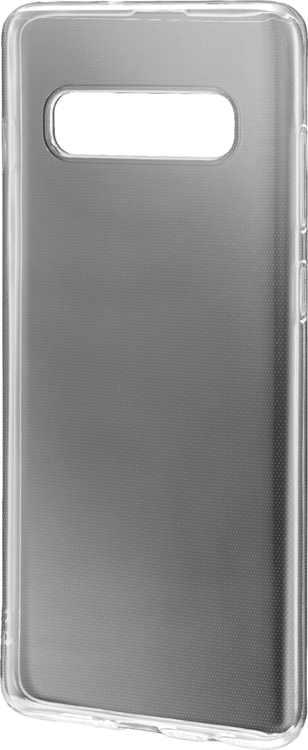 Dynex - Skin Case for Samsung Galaxy S10+ - Semi-Clear