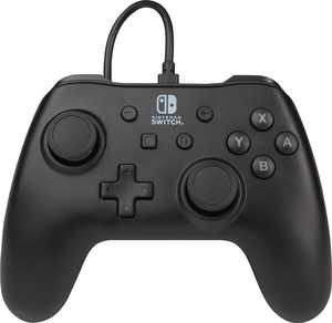 PowerA - Wired Controller for Nintendo Switch - Black