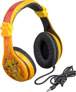 eKids - Disney The Lion King Wired Over-the-Ear Headphones - Yellow/Orange
