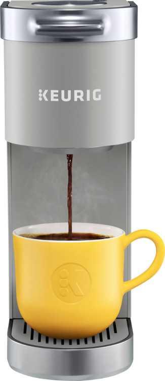 Keurig - K-Mini Plus Single Serve K-Cup Pod Coffee Maker - Studio Gray