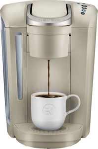 Keurig - K-Select Single-Serve K-Cup Pod Coffee Maker - Sandstone
