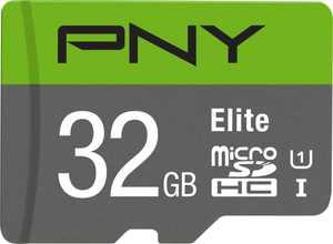 PNY - 32GB microSDHC UHS-I Memory Card
