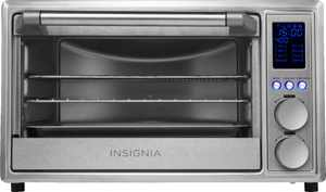 Insignia - 6-Slice Toaster Oven Air Fryer - Stainless